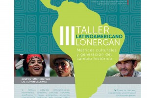 afiche FINAL III Taller latinoamericano Lonergan